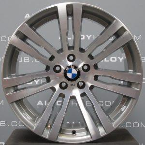 Genuine BMW X5/X6 E70 E71 E72 Style 333M Sport 20″ Inch 7 Twin Spoke Alloy Wheels with Grey & Diamond Turned Finish 36117842183 36117842184