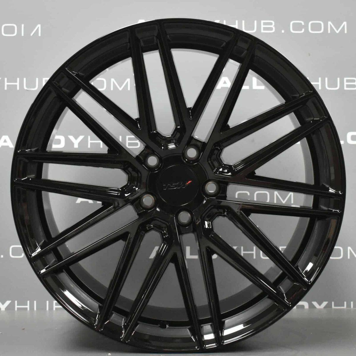 "Genuine VEA TSW Volkswagen Amarok 20"" Inch Alloy Wheels with Gloss Black Finish"