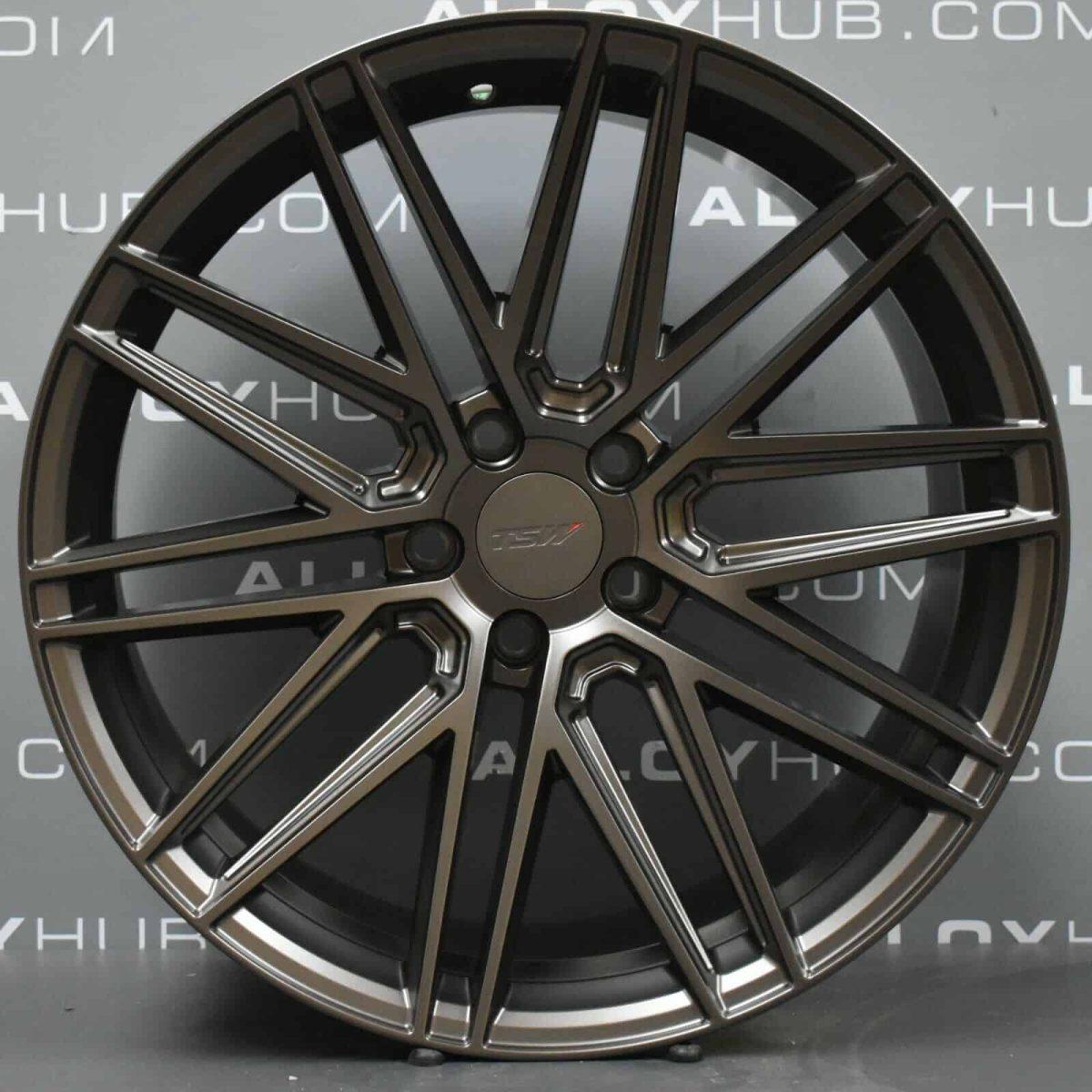 """Genuine VEA TSW Volkswagen Amarok 20"""" Inch Alloy Wheels with Satin Bronze Finish"""