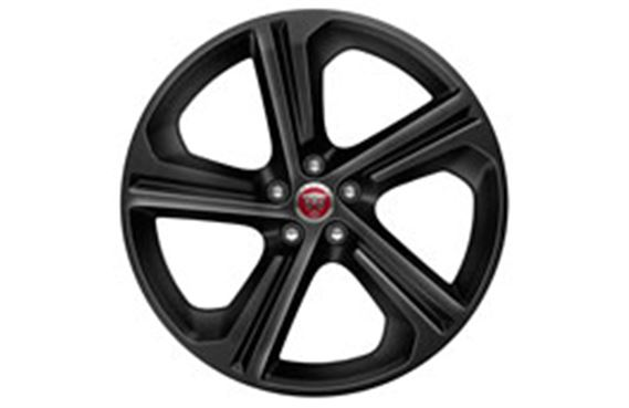 """Genuine Jaguar F-Pace Style 5035 Blade Spoke 20"""" Inch Alloy Wheels with Gloss Black Finish T4A4437"""