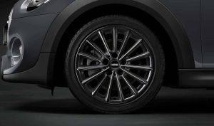 """Genuine Mini Cooper F55 F56 F57 505 Multi Spoke 17"""" inch Alloy Wheels with Gloss Black Finish 36116859620"""