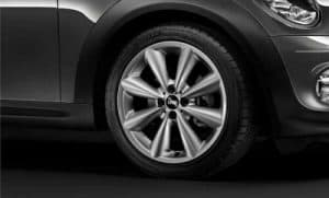"""Genuine Mini Cooper S R50 R53 R56 R121 Conical Spoke 17"""" inch Alloy Wheels with Spheric Grey Finish 36116857070"""