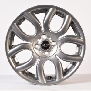 """Genuine Mini Cooper S R50 R53 R56 R97 Flame Spoke 17"""" inch Alloy Wheels with Anthracite Grey Finish 36116775685"""