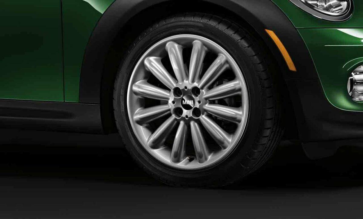 """Genuine Mini Cooper S R50 R53 R56 R116 Infinite Stream Spoke 17"""" inch Alloy Wheels with Silver Finish 36116795455"""