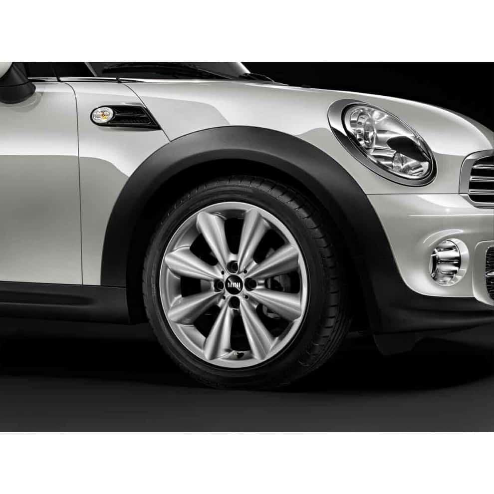 "Genuine Mini Cooper S R50 R53 R56 R121 Conical Spoke 17"" inch Alloy Wheels with Silver Finish 36116791945"