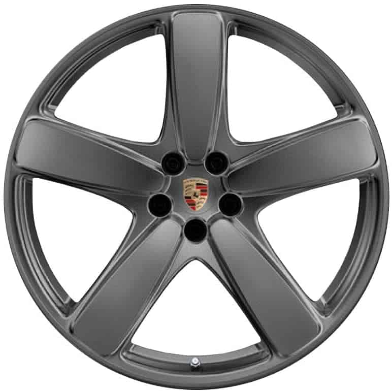 "Genuine Porsche Macan 95B Sport Classic 19"" Inch Alloy Wheels with Satin Grey Finish 95B601025BKOB5 95B601025BLOB5"