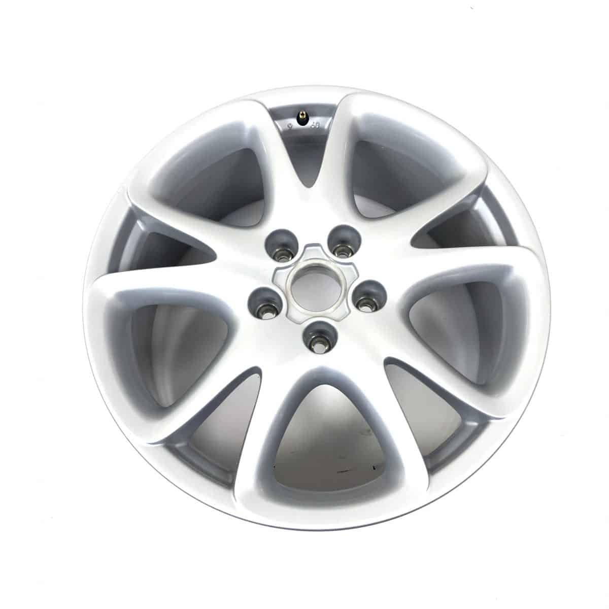 """Genuine Porsche Cayenne 955 957 Sport Design 20"""" inch Alloy Wheels with Silver Finish 715 601 025 N"""